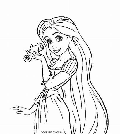 Rapunzel Coloring Pages Printable Pdf Disney Princess