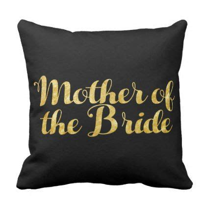 mother   bride gold throw pillow glitter gifts