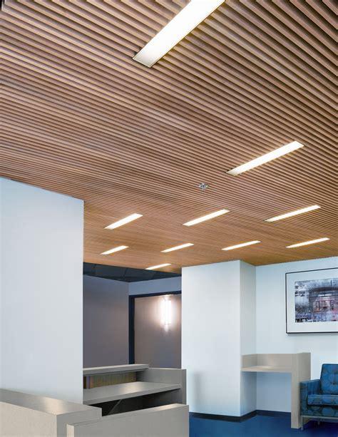 Wood Slat Ceiling  Basement  Pinterest  Wood Slats