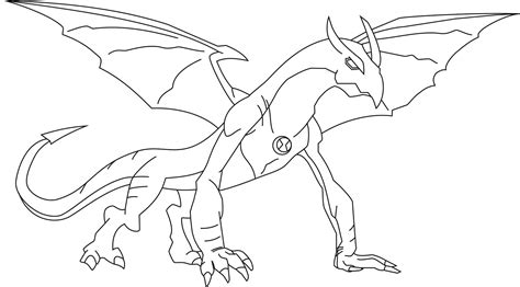 Ben 10 Shocksquatch Coloring Pages Coloring Pages