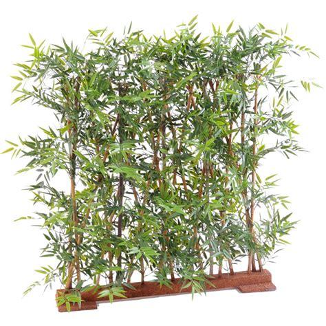 haie artificielle bambou dense japenese plast 110 et 155 cm bambous artificiels reflets nature