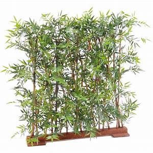 Bambou Pour Haie Brise Vue : haie artificielle bambou dense japenese plast 110 et 150 ~ Premium-room.com Idées de Décoration