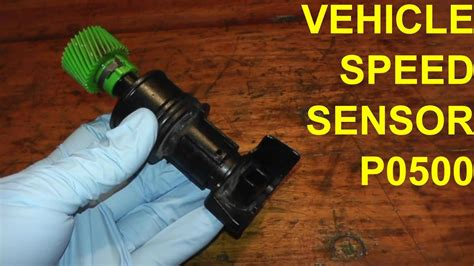 vehicle speed sensor p replacement youtube
