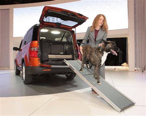dog friendly honda element concept transforms suv  pet