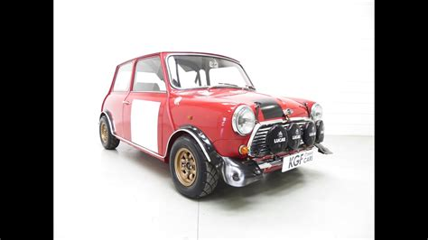 An Incredible Mk2 Mini Cooper S Rally Works Replica Fully