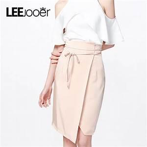 LEEJOOER New Designs 2017 Skirt Women Autumn Asymmetrical ...