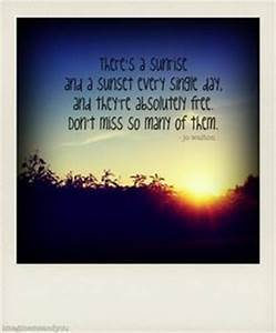 Sunsets on Pint... Winter Sunsets Quotes