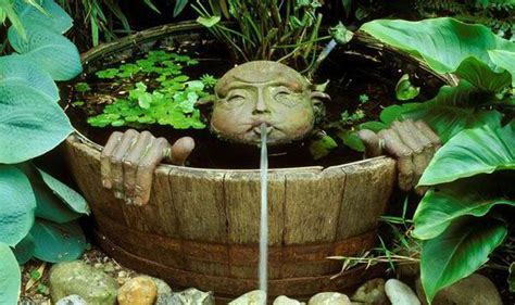 how to make a garden water feature water is a winning feature alan titchmarsh columnists comment express co uk