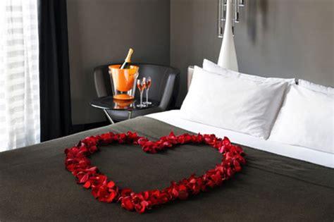 chambre a coucher amoureux décoration chambre pour valentin