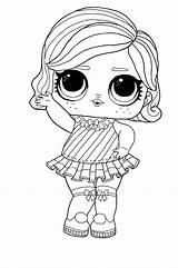 Lol Coloring Disco Winter Surprise Doll Barbie Coloriage Sheets Printable Colouring Dolls Colorir Unicorn Cartoon Desenhos Boy Desenho Coloring1 Colorear sketch template