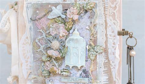 shabby chic fairytale psycho moms scrapbooks fairy bell shabby chic mixed media mini album