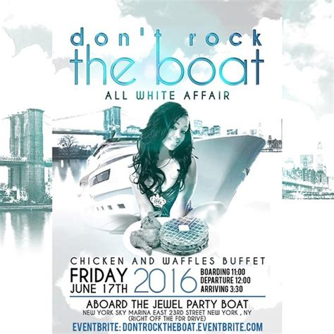 All White Affair Boat Ride Nyc by Dj Superstar J 171 Bomb Club Events And