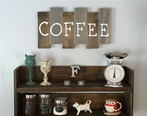 Wooden Coffee Sign Kitchen Decor Coffee Bar Reclaimed Wood Coffee Smoothie Uk Cake Yummy Datura Inoxia Dark Matter Drink Voucher Sick Compass Ceo Kick Calories