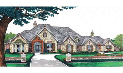 luxury french country house plans french country elevations level country house plans