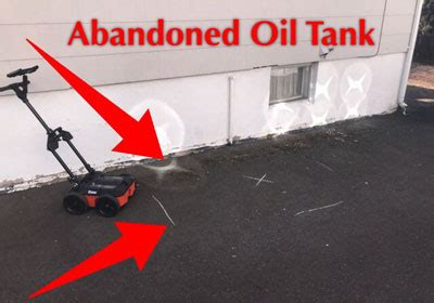underground fuel tank detection