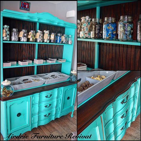 Green And Red Kitchen Ideas - tiffany blue display cabinet general finishes design center