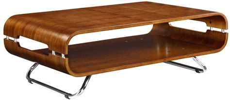 chrome and wood coffee table jual jf302 walnut coffee tables
