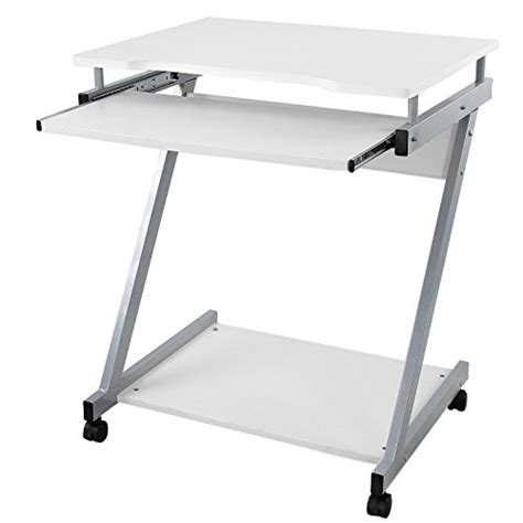 table bureau blanc songmics bureau informatique table informatique meuble
