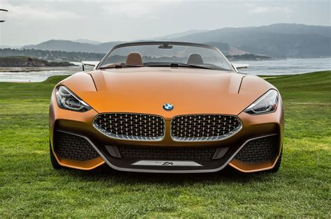 bmw concept hello beautiful bmw concept z4 unveiled in monterey