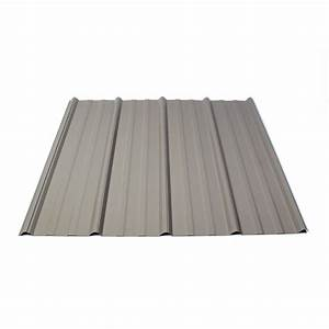 shop fabral 314 ft x 12 ft ribbed steel roof panel at With 18 foot metal roofing panels