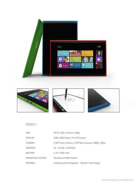 Tablet That Runs Windows Nokia 1 Tablet Runs Windows 8 Offers A Slim Design
