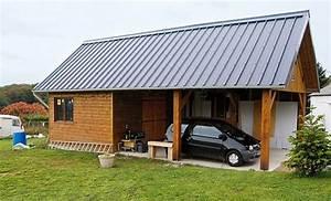 se menager un bel espace pour bricoler et garer sa voiture With construire son garage soi meme