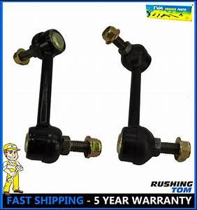 2 Rear Suspension Stabilizer Sway Bar Link For 02-09 Chevy Trailblazer Gmc Envoy