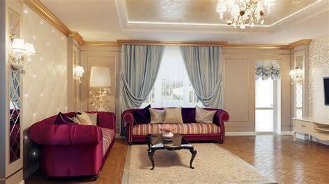 decorating styles for home interiors regal purple blue living room decor interior design ideas