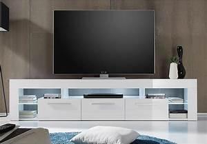 Tv Lowboard Mit Tv Halterung : lowboard score kommode tv board in wei hochglanz breite ~ Michelbontemps.com Haus und Dekorationen