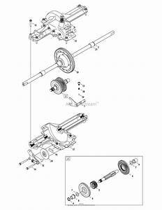 Mtd 13an771s099  247 289010   2010   Lt1500 13an771s099  2010  Parts Diagram For Transmission
