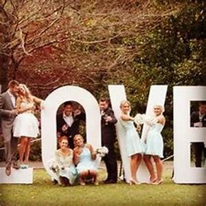 The love sign big giant love letters for wedding on for Giant letters for wedding