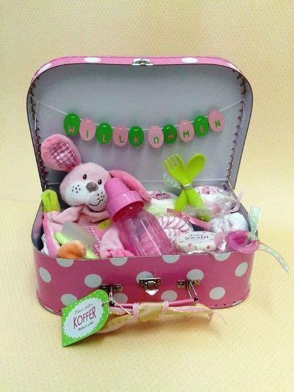 geschenke zur geburt basteln baby erster koffer geschenke zur geburt koffer babys und geschenk