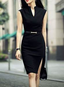 Vestido ejecutivo negro | Outfits | Pinterest | Formal Work outfits and Clothes
