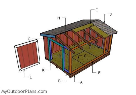 free shed plans 8x12 8x12 shed roof plans myoutdoorplans free