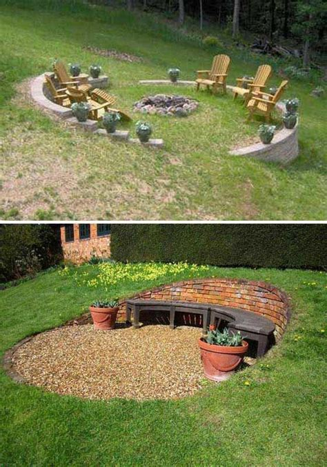 25 best ideas about sloped yard on sloping