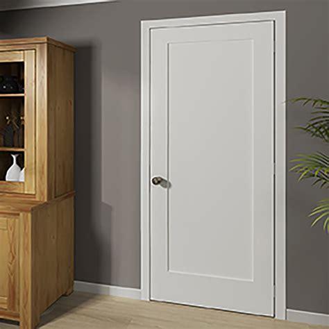 kiby shaker 1 panel wood slab interior door reviews wayfair