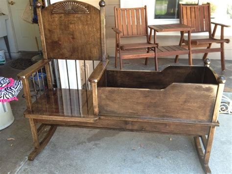 rocking chair cradle plans  woodcraftcom baby