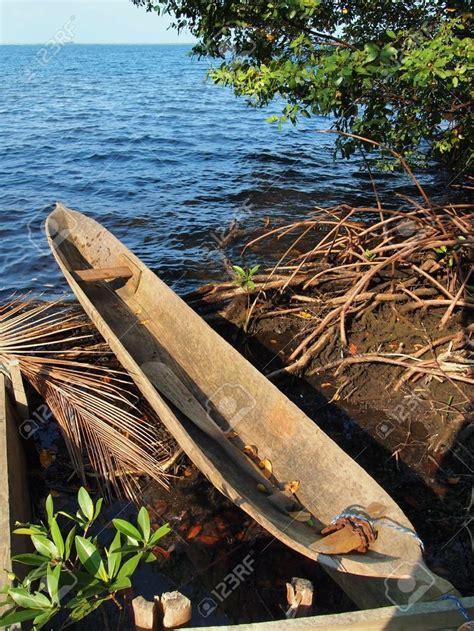 stock photo dugout canoe canoe outrigger canoe