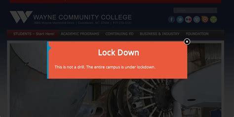 Shooting At Wayne Community College Kills 1
