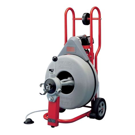 Snakes For Plumbing by Ridgid K750 115 Volt Drum Machine With 5 8 In Pigtail