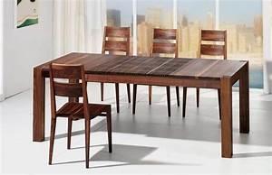 Tisch Mit Stühlen : lignum arts der flexible ziehharmonika tisch mit lamellen ~ Orissabook.com Haus und Dekorationen