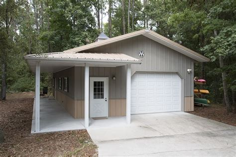 Metal Sheds Jacksonville Fl by Morton Buildings Garage With Attached Office In