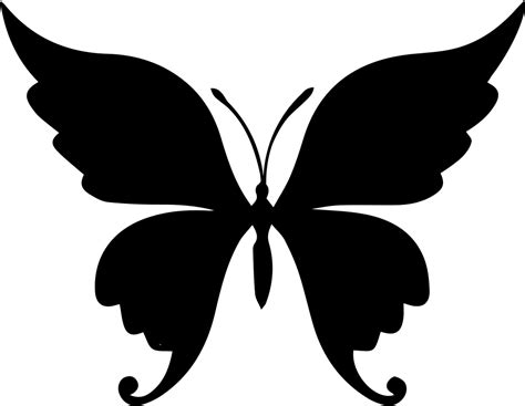 butterfly beautiful shape svg png icon