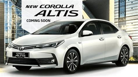 Toyota Corolla Altis 2019 by 2019 Toyota Corolla Altis Unveiling The All New 2019
