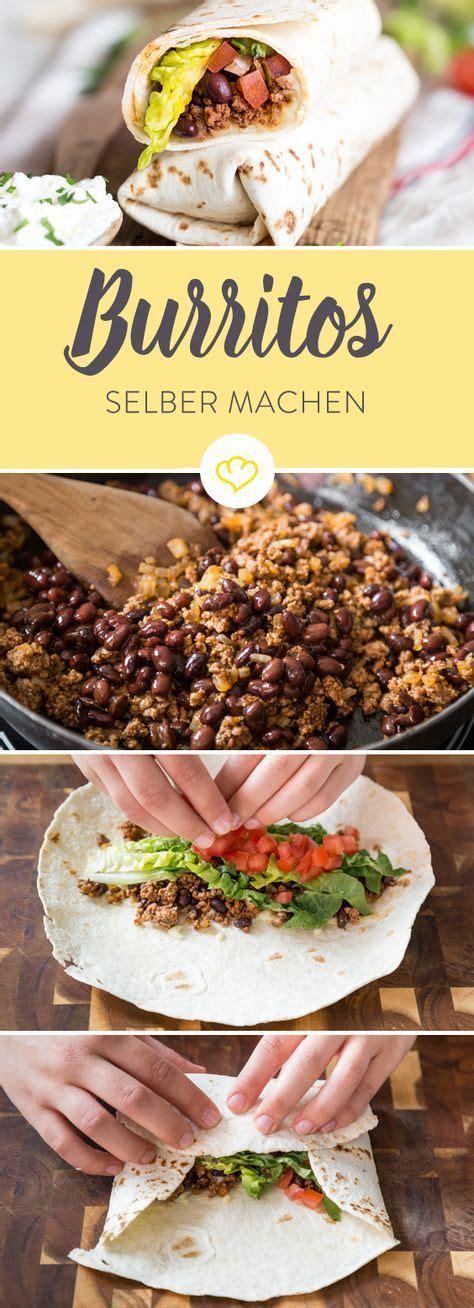 wraps richtig falten burritos selber machen so geht das mit dem f 252 llen falten und rollen rezept food rezepte