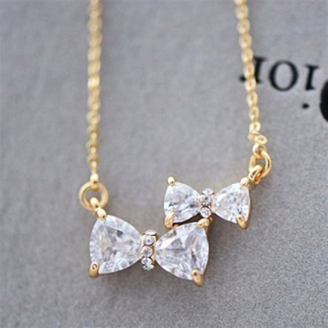 Cute Two Bowknot Rhinestone Pendant Necklace  Fashion. S Steel Rings. Design Beads. Forever Bands. School Bracelet. Classy Engagement Rings. Square Diamond Earrings. 2 Carat Eternity Band. Game Chains