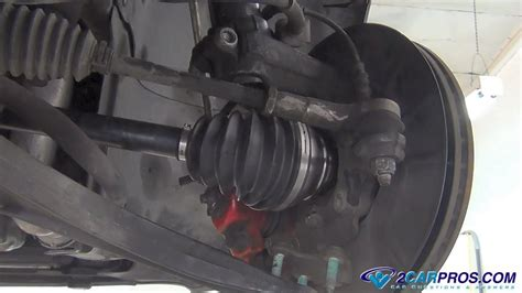 replace  cv axle    minutes