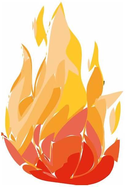 Fire Clip Flames Burning Clipart Flame Cartoon