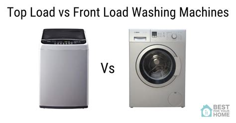 top load front load washing machines what to buy