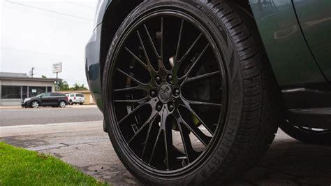 verde wheels  duo gloss black rims vd